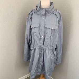 Badgley Mischka Anorak Dakota Rain Coat